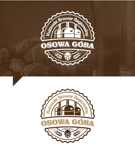logo design for brewing company Poland