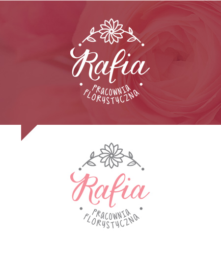 logo design flower shop brand