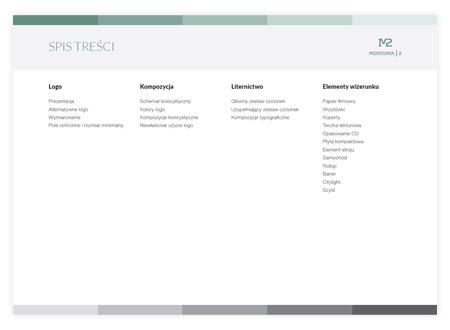 corporate identity book content