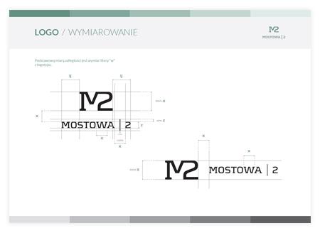 logo size definition in a corporate identity book Poland creative studio