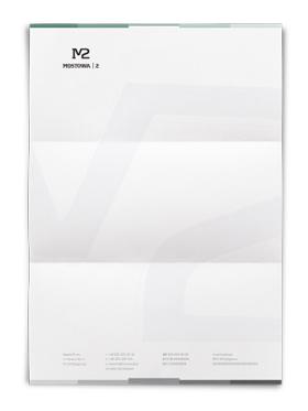 logo design paper a4 corporate identity