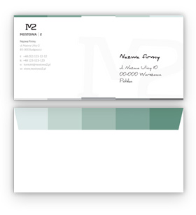 envelope design as a part of corporate design Poland creative agency Kingston Hobart Launceston Devonport George Town Smithton Oatlands Bicheno Zeehan